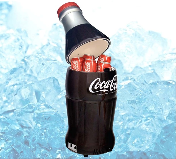 mini fridget coca cola botella